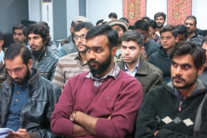 A GRE orientation session was also held in the boy's section of International Islamic University, Islamabad.