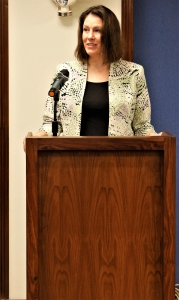 Minister Counselor for Public Affairs, Ms. Kathryn A. Crockart, emphasizes on strengthening people to people ties.