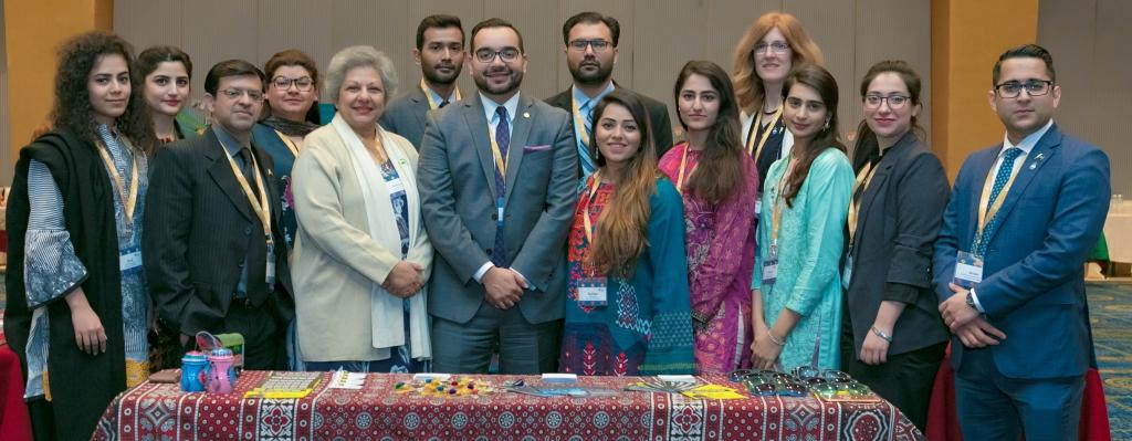 EducationUSA advisers represent Pakistan at the SCA Forum in Nepal.