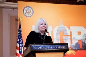 Executive Director USEFP Rita Akhtar addressing the participants of the PDO