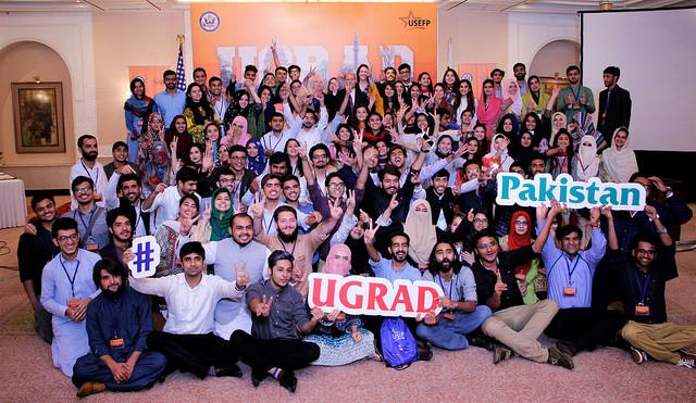 UGRAD fall 2018 grantees prepare to leave for a semester in the U.S.