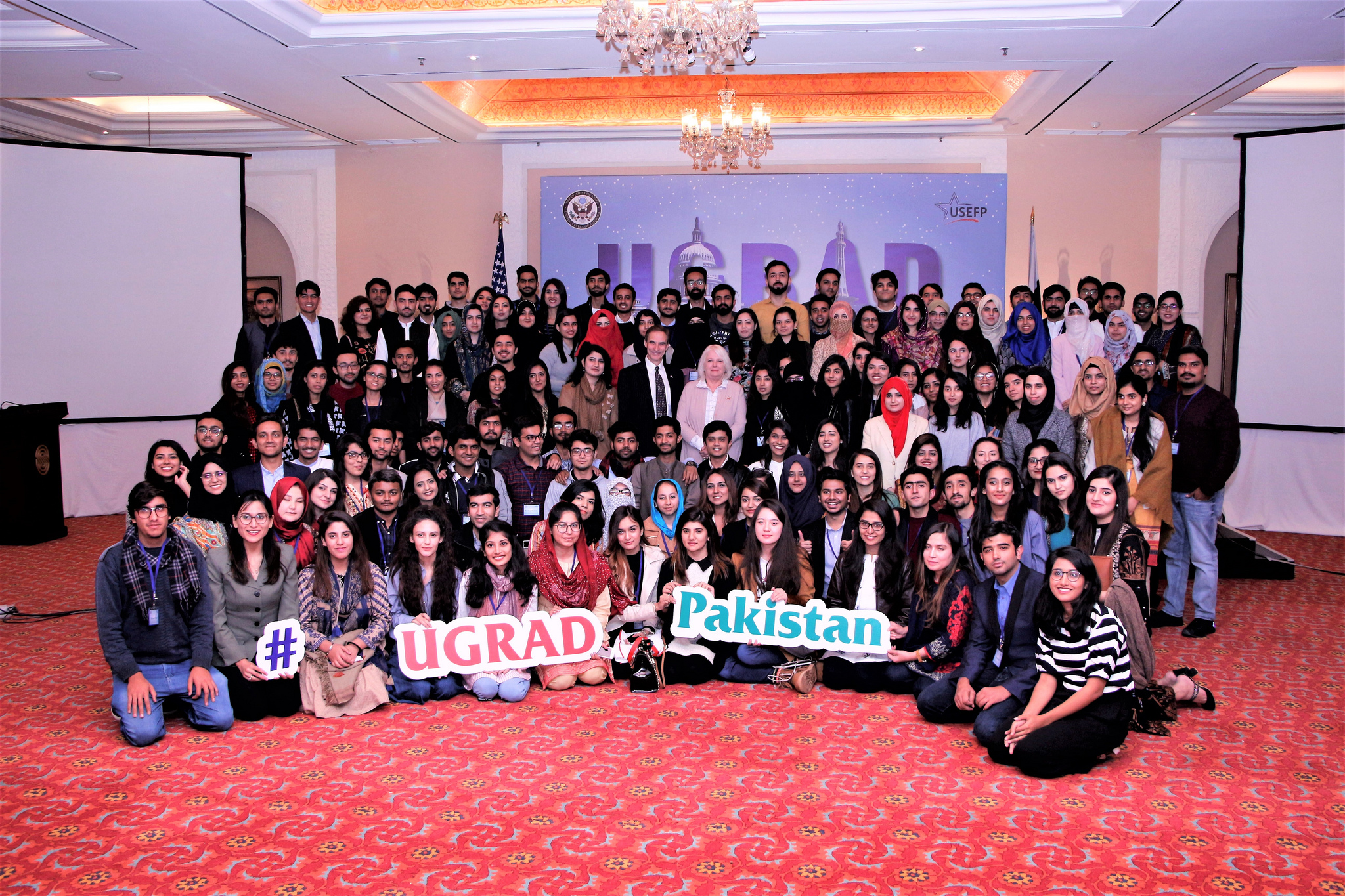 Over 135 Pakistani undergraduate students, selected to participate in the U.S. Government-funded Global Undergraduate Exchange Program (Global UGRAD), attended the two-day PDO ceremony in Islamabad