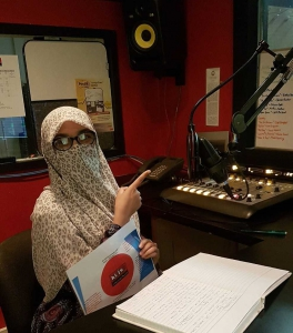 Shakira Bint E Shakir's radio show serves as an introduction to Pakistan for American listeners
