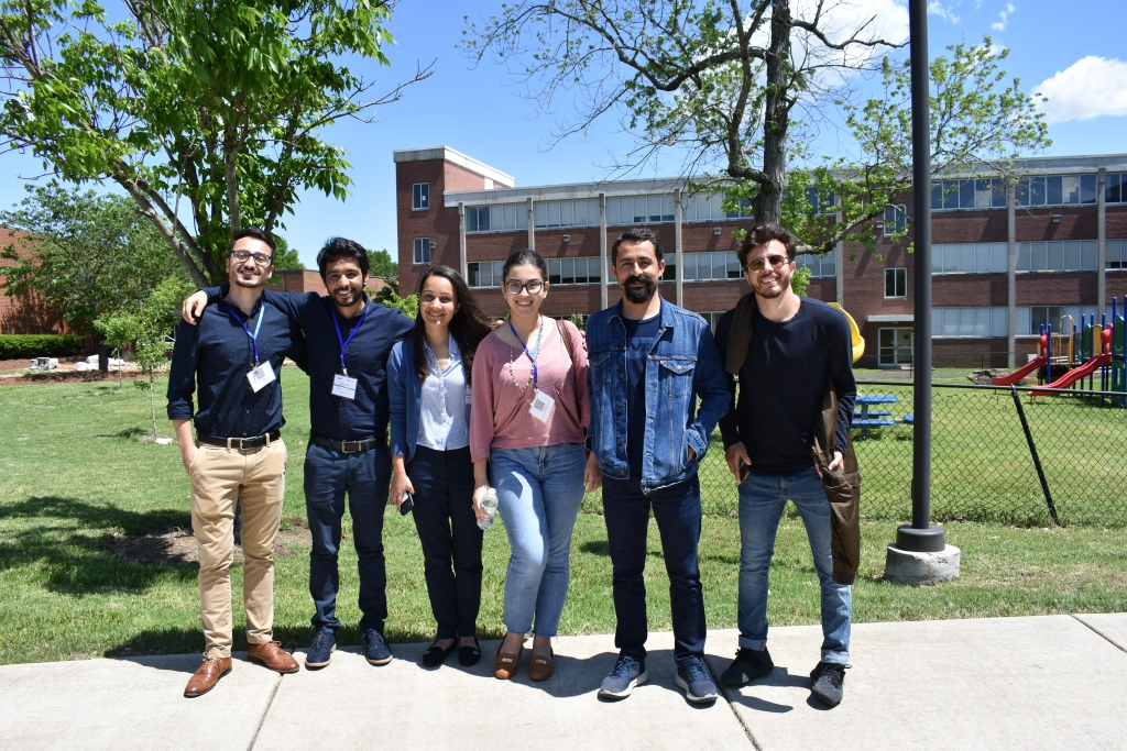 Participants of the Fulbright re-entry seminar pose for a picture at TSU