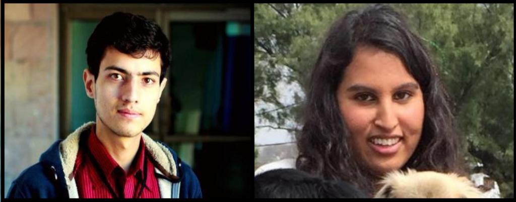 Left: Syed Asad Ali Shah Right: Shandana Mufti