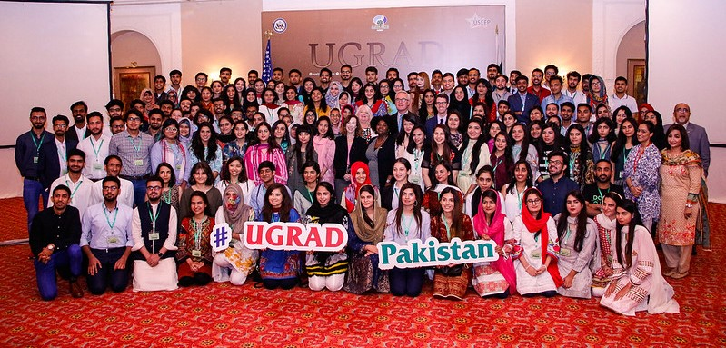 A pre-departure orientation was held for 144 undergraduate Pakistani students selected for Global UGRAD