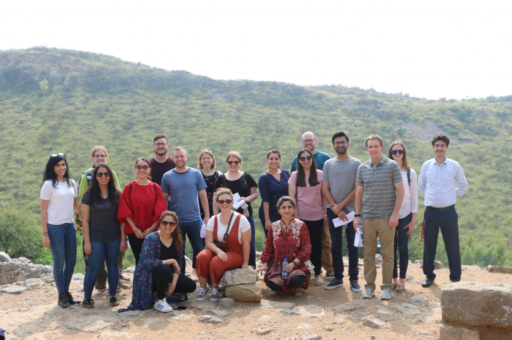 University reps got the chance to visit historical sites in Taxilla during their stay in Islamabad
