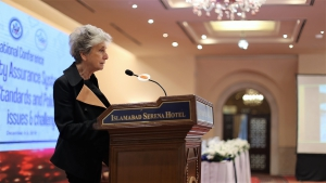 CHEA President Dr. Judith Eaton, stressed the importance of such conferences on quality assurance