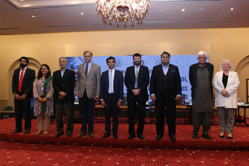 The conference was attended by national and international dignitaries and education professionals