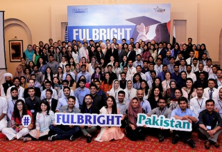 The Fulbright cohort 2019 at the pre-departure orientation