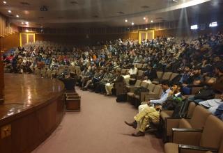 GRE Workshop underway at Mehran University of Engineering & Technology