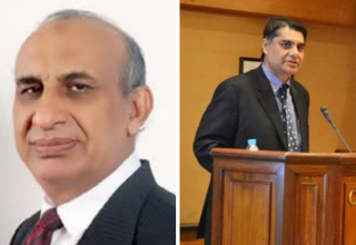 Dr. Zaffar M. Khan (left) and Dr. Arshad Saleem Bhatti (right) have recently stepped into leadership positions at their respective institutions.