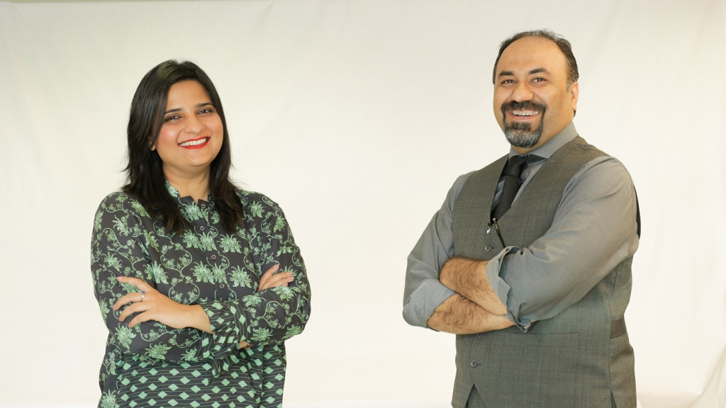 Dr. Izza Aftab (left) and Dr. Mohsen Ali (right) hope to bring about change with their multidisciplinary project.