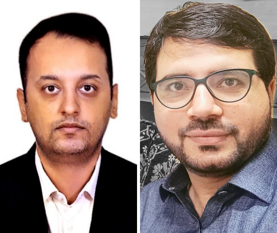 Muhammad Imran Bokhari (left) and Nisar Ahmad (right) have recently joined our team.