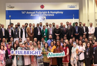 Fulbright and Humphrey alumni gathered at the 14th Annual Alumni Conference.