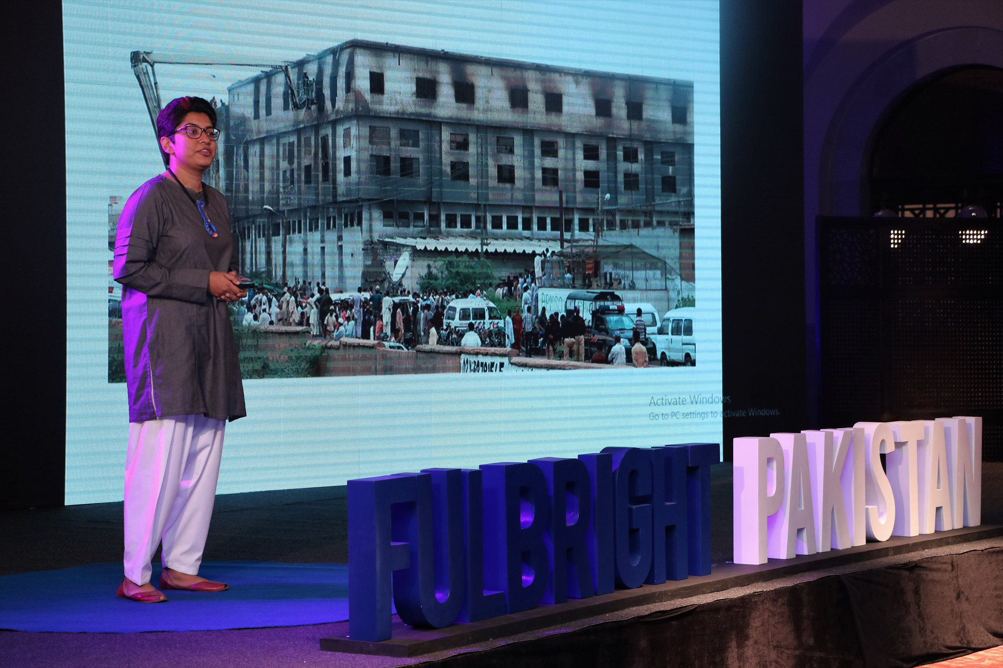 Fulbright alumni took the stage as the hosts and speakers at this year's Fulbright Alumni Conference