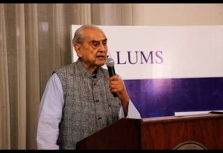 LUMS pro-vice-chancellor also spoke to the alumni at the dinner